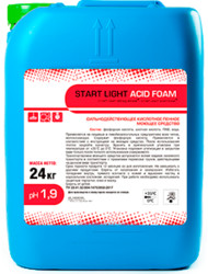 START LIGHT ACID FOAM  24 кг, PH 1,9