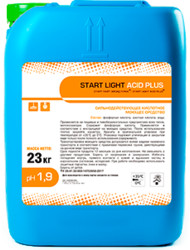 START LIGHT ACID PLUS 23 кг, PH 1.9